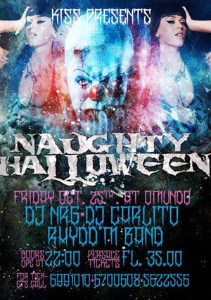 Naughty Halloween at Omundo Curacao