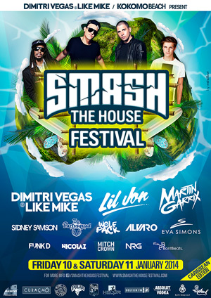 Smash the House Festival Curacao