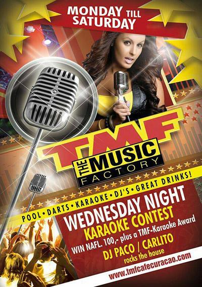 TMF Karaoke Night Curacao