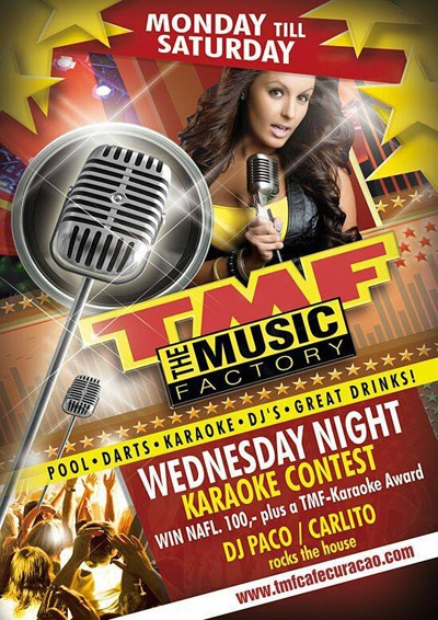 TMF Karaoke Night Curacao