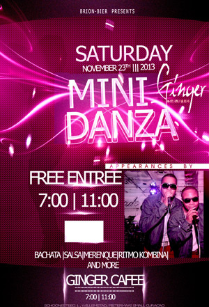 Mini Danza at Ginger Curacao