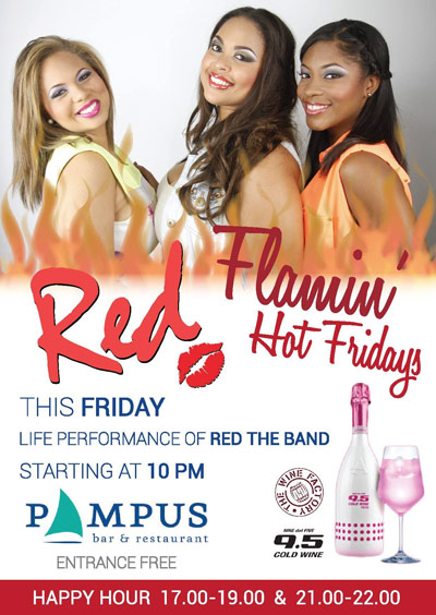 RED the band at Pampus Curacao