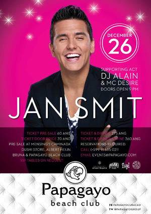 Jan Smit Live in Curacao