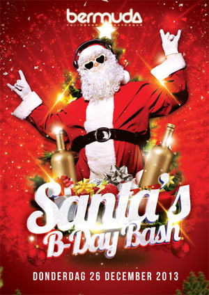 Santa Bday Bash at Bermuda Curacao