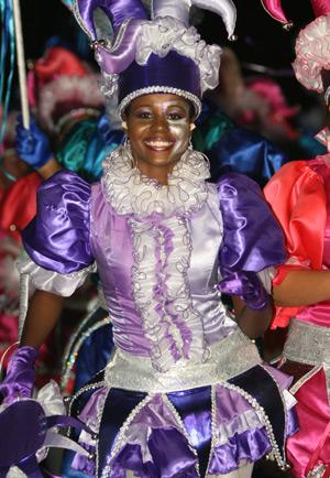 Curacao Farewell Carnival Parade