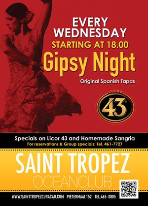Gipsy Night at St Tropez Curaçao