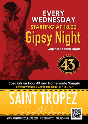 Gipsy Night at St Tropez Curaçao