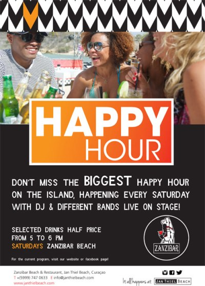 Happy Hour Zanzibar Curacao