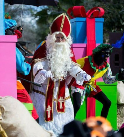 Arrival of Sinterklaas in Curacao