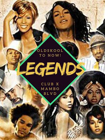 Legends Friday at Club X Mambo Curacao