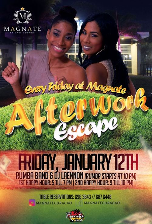 After Work Escape at Magnate Lounge Curacao