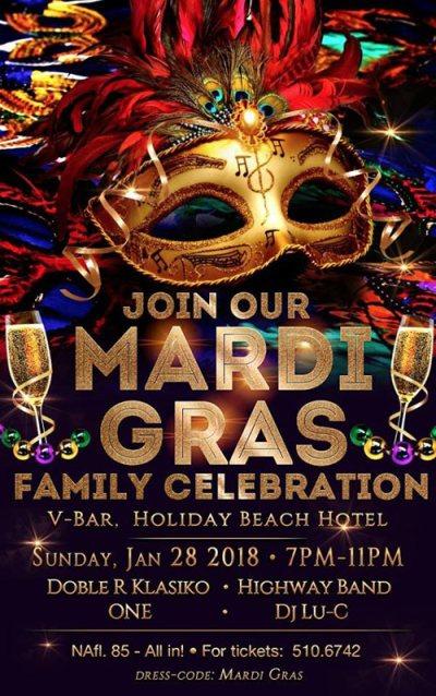 Mardi Gras Family Celebration at Holiday Beach Hotel Curacao