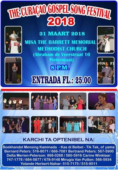 Curacao Gospel Song Festival 2018