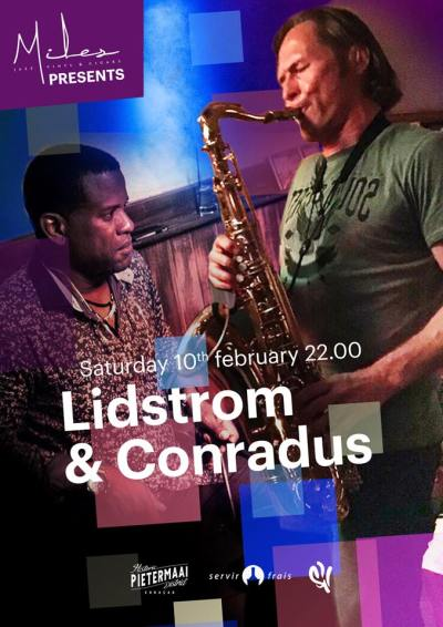 Lidstrom and Conradus at Miles Jazz Cafe Curacao
