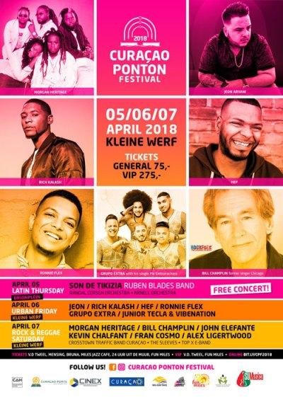 Curaçao Ponton Festival 2018