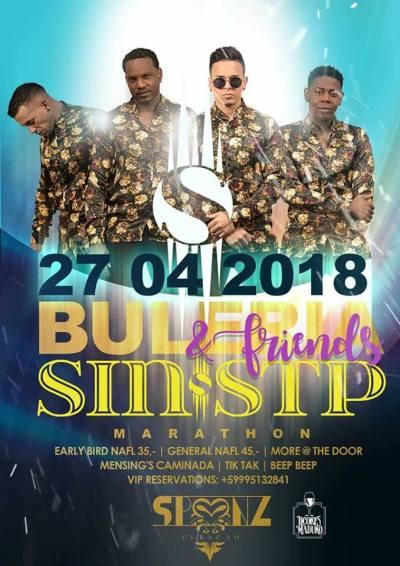 Buleria Sin Stop at Club Spoonz Curacao