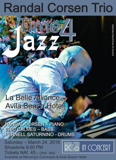 Randal Corsen Trio at Avila Beach Hotel Curacao