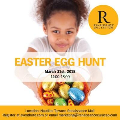 Easter Egg Hunt at Curacao Renaissance