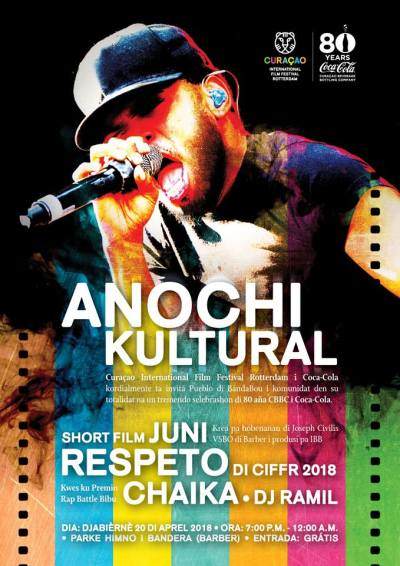 Anochi Kultural in Barber Curacao