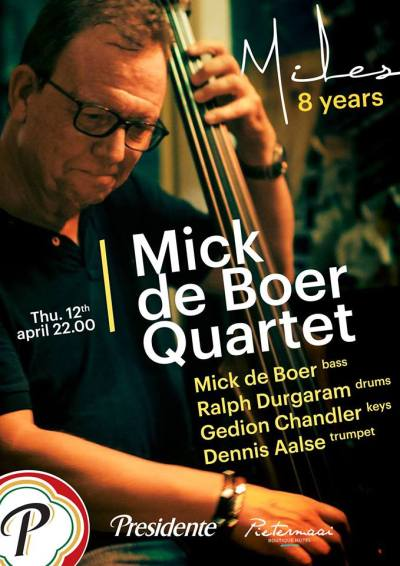 8 Years Miles - Mick de Boer at Miles Jazz Cafe Curacao