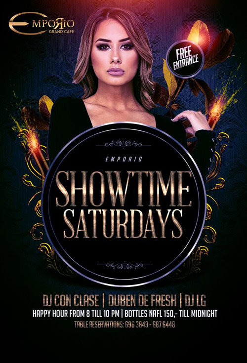 Showtime Saturday at Emporio Curacao