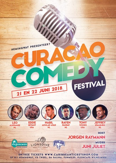 Curacao Comedy Festival at Hemingway Curacao