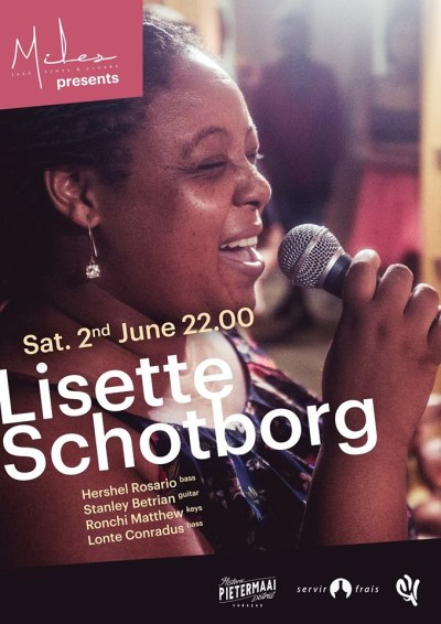 Lisette Schotborg at Miles Jazz Cafe Curacao