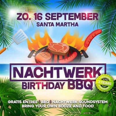 Nachtwerk Birthday BBQ at Santa Martha Curacao