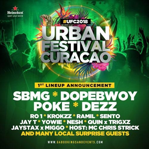 Urban Festival Curacao 2018 at Kleine Werf Curacao
