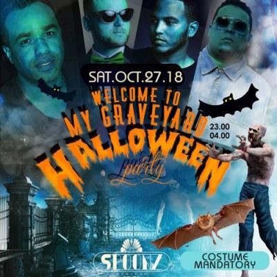 Halloween at Club Spoonz Curacao
