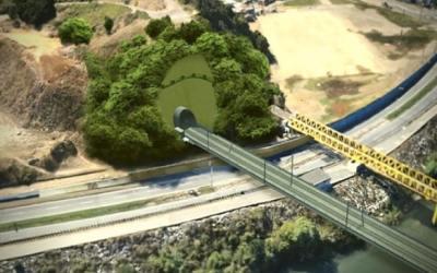EFE explicó moderno sistema de tronaduras controladas para abrir nuevo túnel en cerro Chepe de Concepción