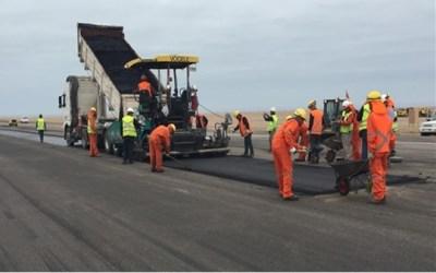 MOP de Arica y Parinacota avanza en conectividad con obras en Aeropuerto de Chacalluta