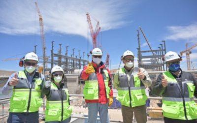 Ministro Prokurica visita proyecto minero Quebrada Blanca 2 que generará 13 mil empleos en Tarapacá