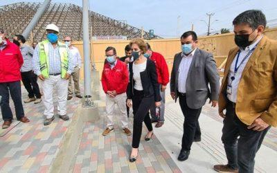 Municipio mostró los avances del renovado terminal terrestre internacional