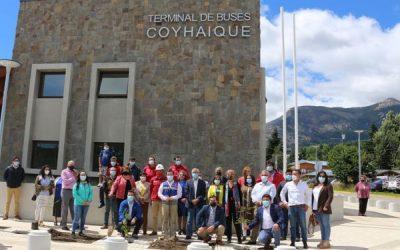 MOP entrega a municipalidad de Coyhaique Terminal de Buses Regional terminado