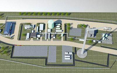 Primer proyecto piloto de hidrógeno verde ajusta obras ante mayores requerimientos hídricos de la planta