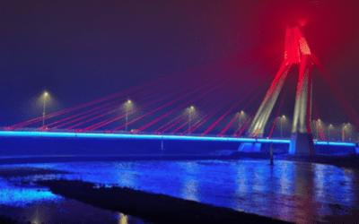 """Piñera inaugura puente Treng Treng-Kay Kay en La Araucanía: """"Es de las obras más grandes del país"""""""