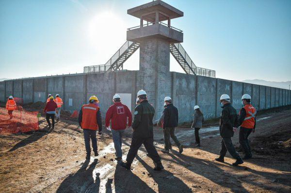 Más de 80% de avance tienen obras de construcción del Complejo Penitenciario la Laguna