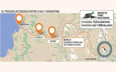 Túnel Agua Negra: CORE de Coquimbo rechaza iniciativa del MOP de buscar trazado alternativo
