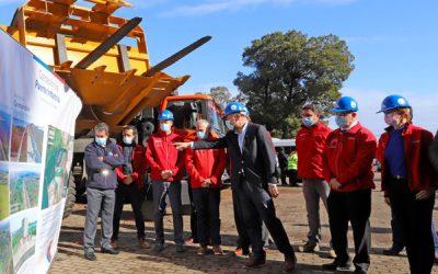 Se dio el inicio a las obras de construcción del Puente Industrial, el que se convertirá en el segundo más largo de Chile