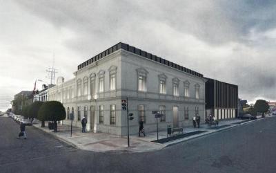 MOP realiza apertura técnica de emblemática construcción de Archivo y biblioteca regional en Punta Arenas