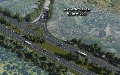 Sigue su avance el estudio para el mejoramiento de la Ruta Ch-226 desde la intersección con la Ruta 5 y el acceso al aeropuerto El Tepual
