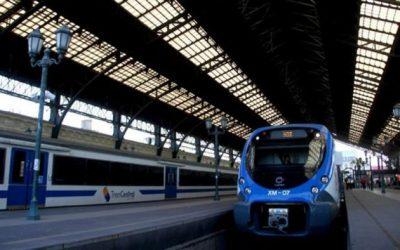 Hoy fue la ceremonia de inicio de obras del tren Santiago-Melipilla