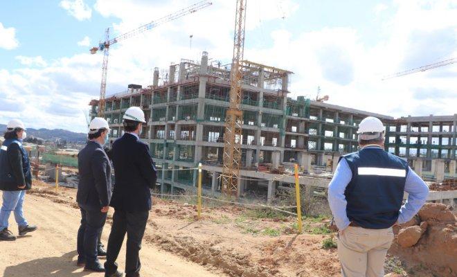 El Hospital Provincial Marga Marga de Villa Alemana ya tiene un 26% de avance en su construcción