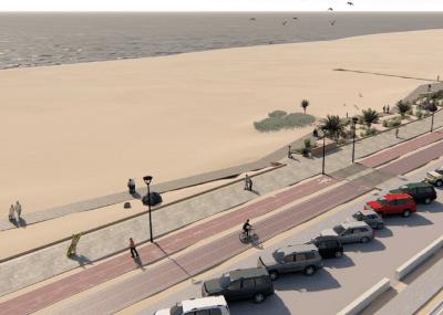 En su fase final el diseño para la transformación del borde costero en Playa Las Machas de Arica