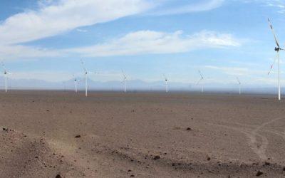 Parque Eólico Vientos del Loa iniciaría su construcción en el 2022 tras recibir permiso ambiental