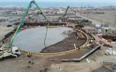 Dos nuevos estanques de agua permitirán abastecer a la comunidad en caso de corte de suministro en Antofagasta