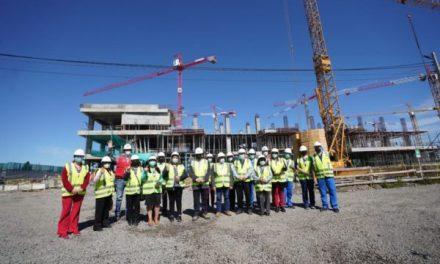 Un 23,5% de avance registran obras de nuevo Hospital Regional de Chillán