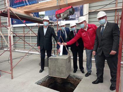Instalan primera piedra de nuevo edificio de la Dirección Regional de Aduanas de Talcahuano