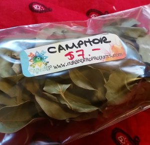 Camphor Leaves for spiritual protection